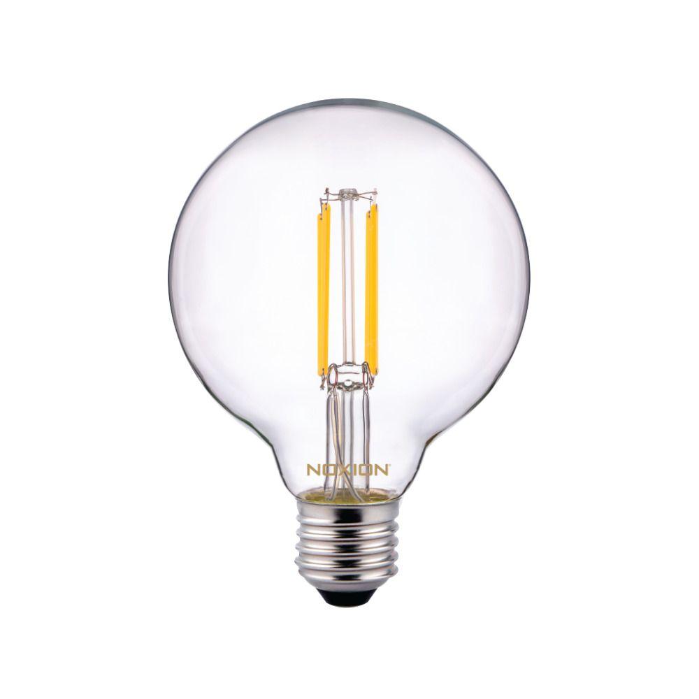 Noxion PRO LED Globe Classic Fadenlampe G95 E27 8W 827 Klar | Dimmbar - Ersatz für 60W