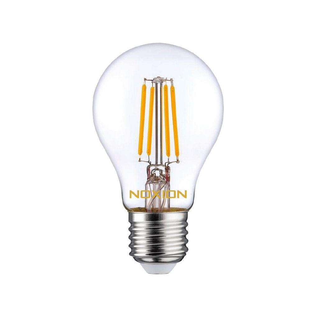 Noxion Lucent Fadenlampe LED Bulb 8W 827 A60 E27 Klar | Ersatz für 75W