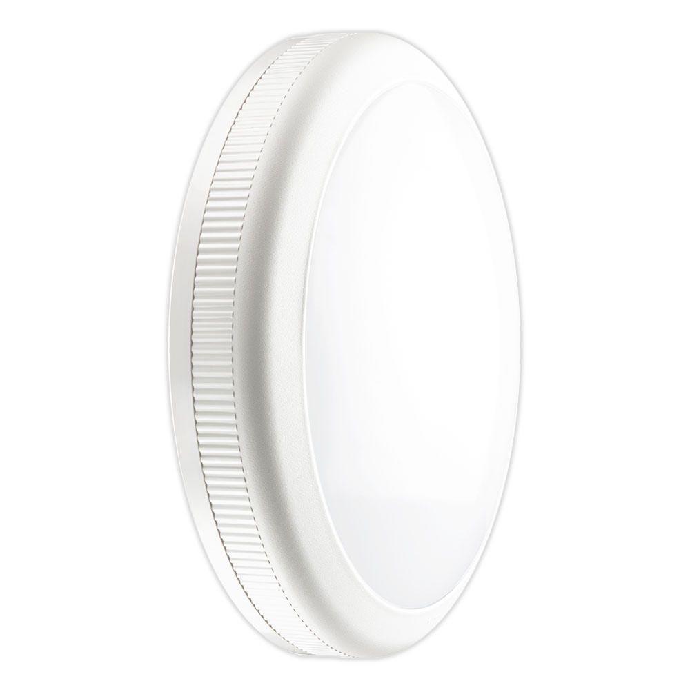 Noxion LED-Wand- und Deckenleuchte Core Wandhalterung / Deckenmontage 20W 3000K Weiß Rund Sensor Ø360mm ( Ersatz für 2x26W ) EMI1HA