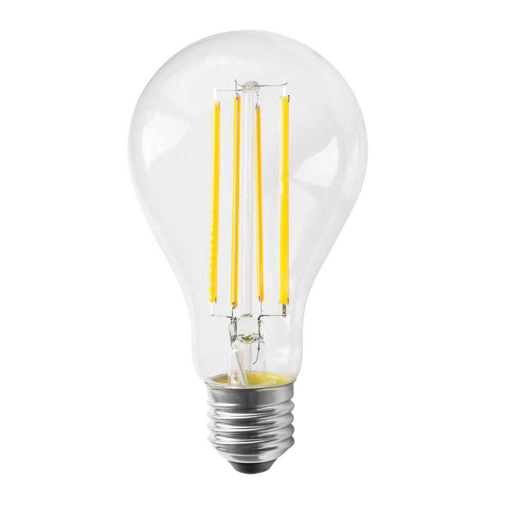 Noxion Lucent Classic LED Fadenlampe A70 E27 13W 827 Klar   Dimmbar - Ersatz für 100W