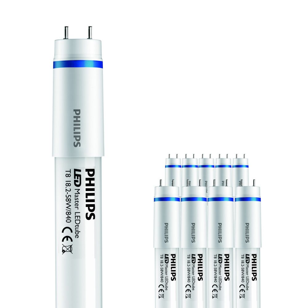 Mehrfachpackung 10x Philips MAS LEDtube 1500mm HO 18.2W 840 T8