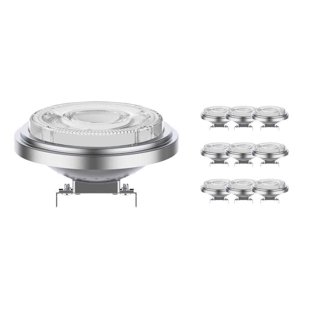 Mehrfachpackung 10x Noxion Lucent LED-Spot AR111 G53 12V 11.5W 927 24D | Dimmbar - Höchste Farbwiedergabe - Ersatz für 75W