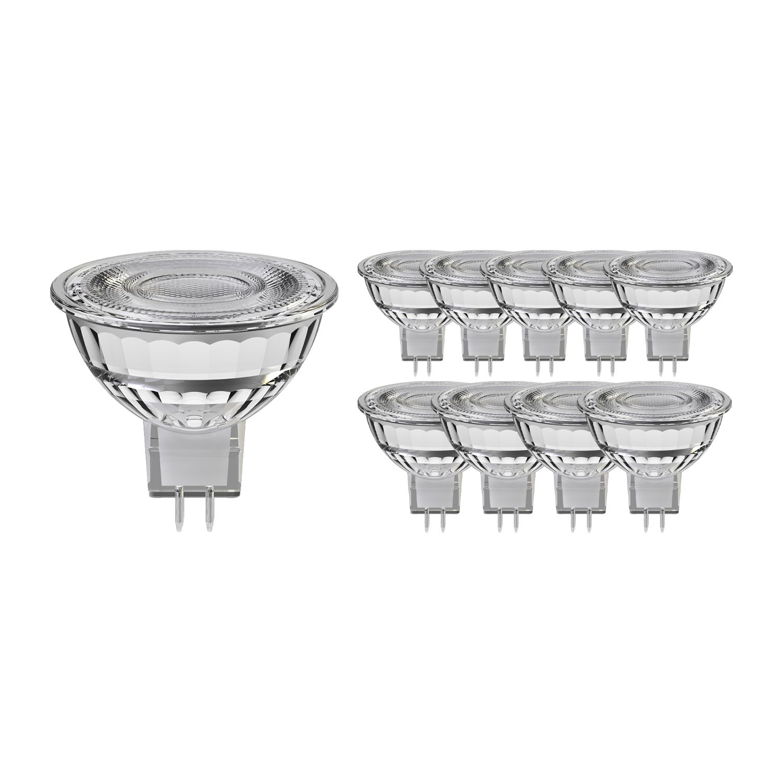 Mehrfachpackung 10x Noxion LED-Spot GU5.3 8W 827 60D 660lm   Dimmbar - Extra Warmweiß - Ersatz für 50W