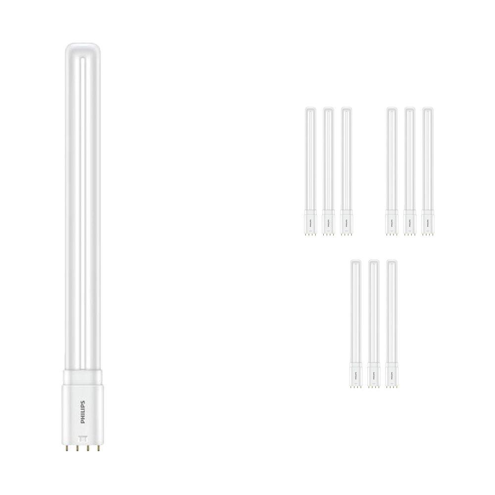 Mehrfachpackung 10x Philips CorePro PL-L HF LED 16.5W 830   4-Pins - Ersatz für 36W