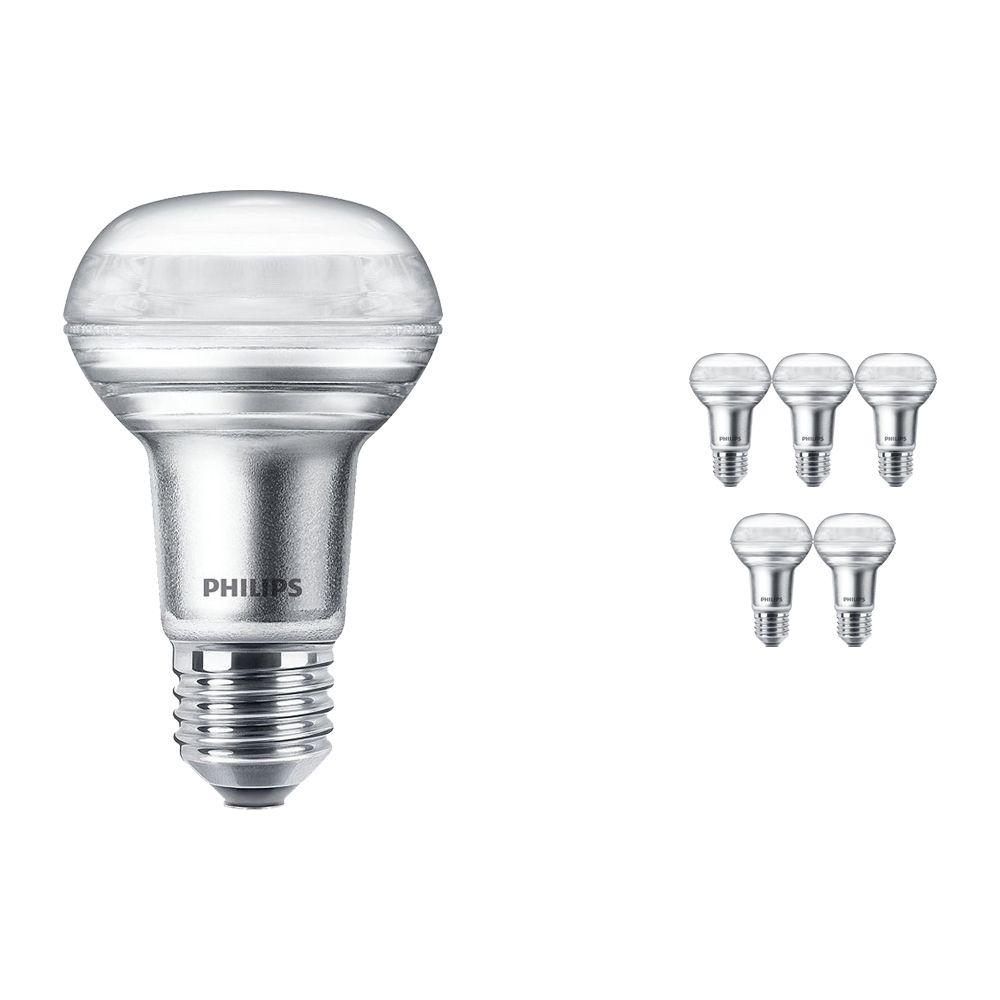 Mehrfachpackung 6x Philips CorePro LEDspot E27 Reflektor R63 3W 827 36D | Ersatz für 40W