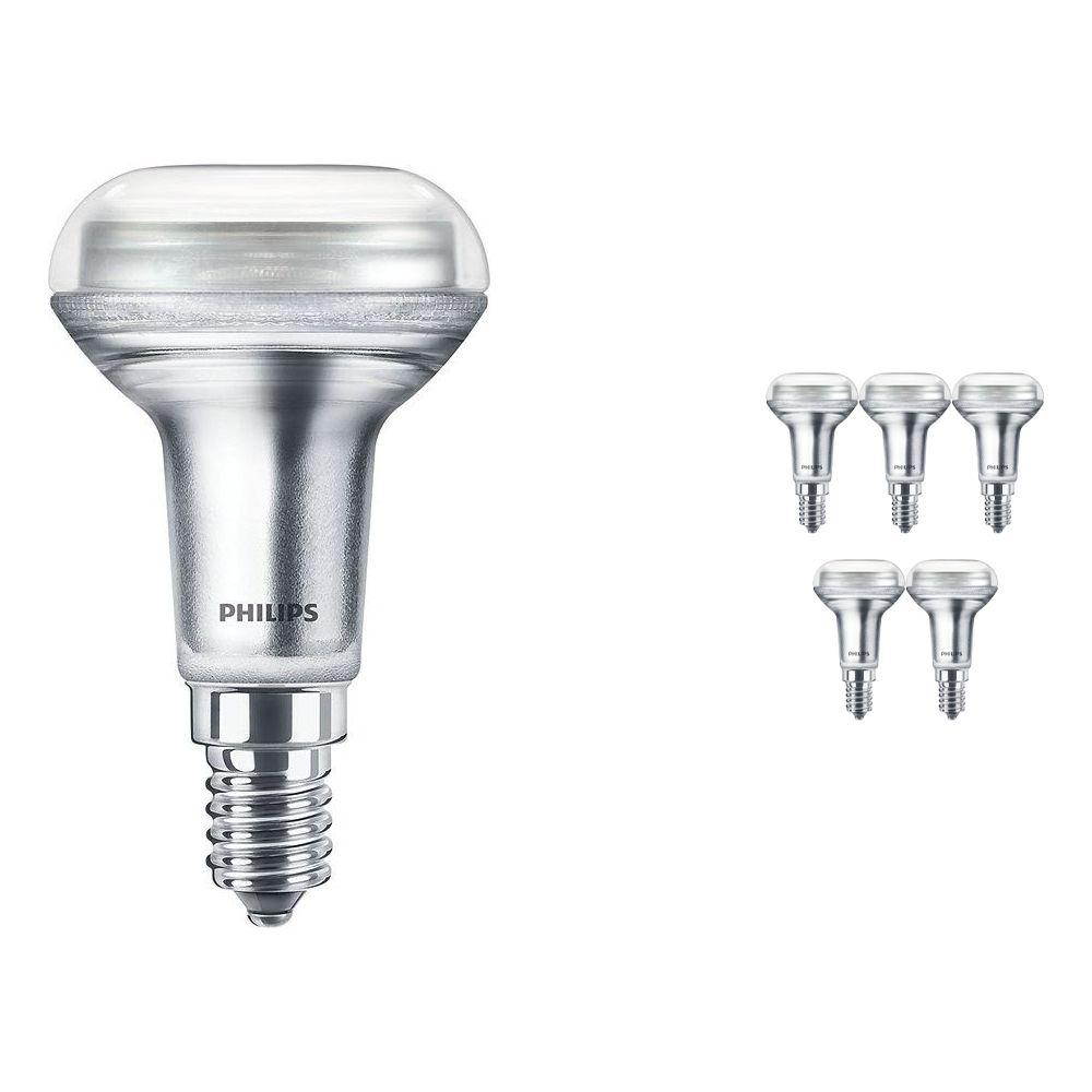 Mehrfachpackung 6x Philips CorePro LEDspot E14 Reflektor R50 1.4W 827 36D | Extra Warmweiß - Ersatz für 25W