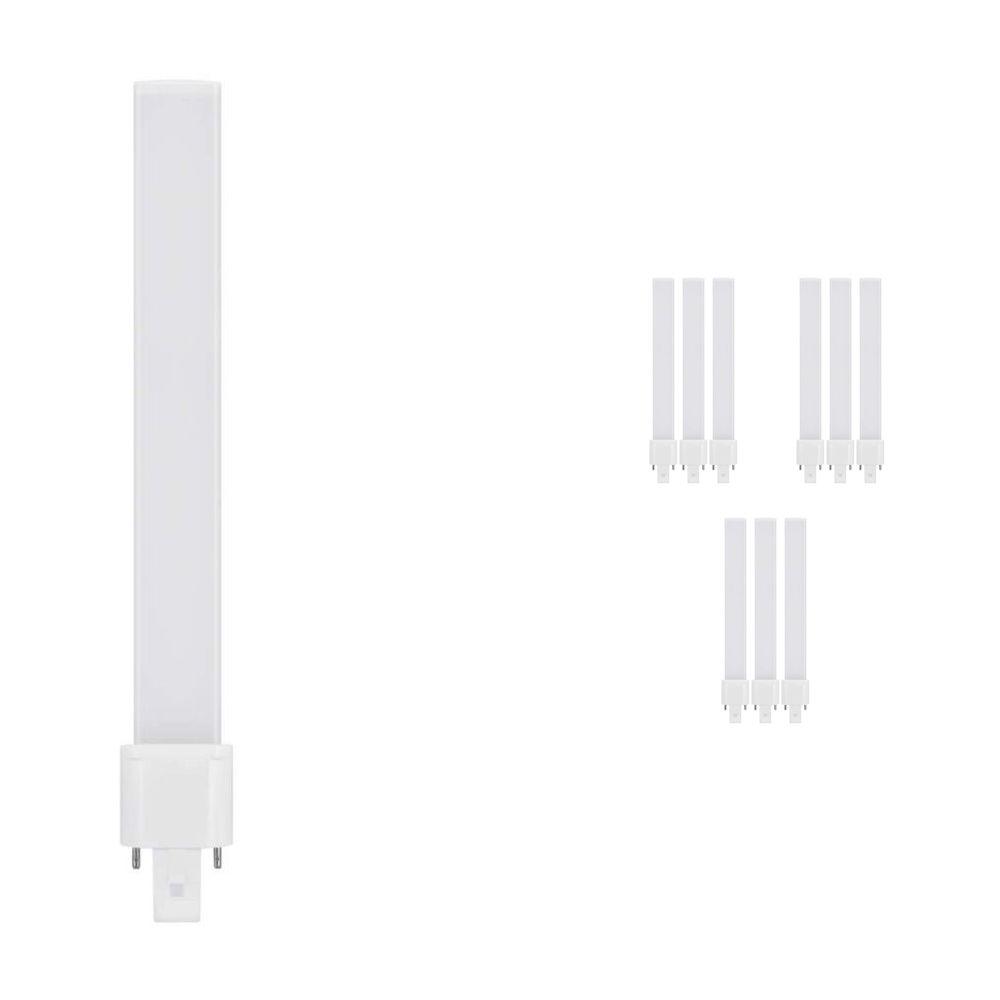 Mehrfachpackung 10x Osram Dulux S LED G23 6W 840 | 2-Pins - Ersatz für 11W