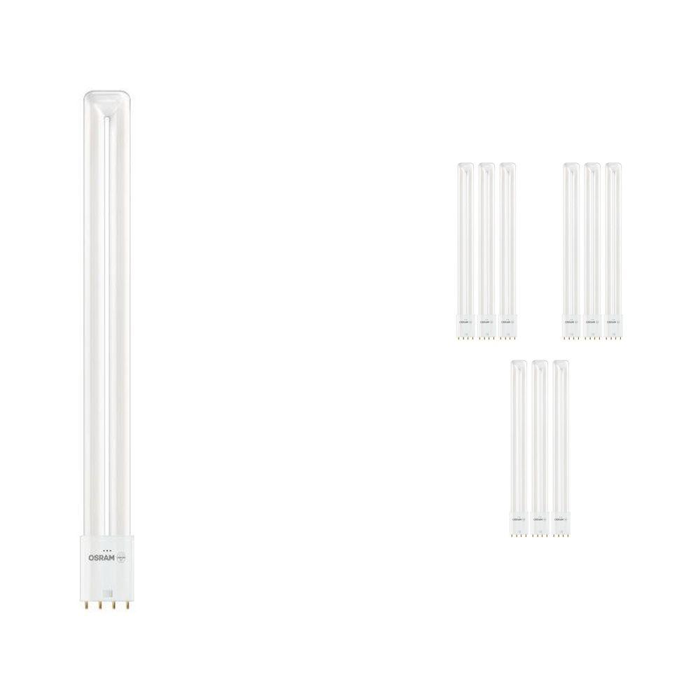 Mehrfachpackung 10x Osram Dulux L LED 2G11 18W 830   4-Pins - Ersatz für 36W