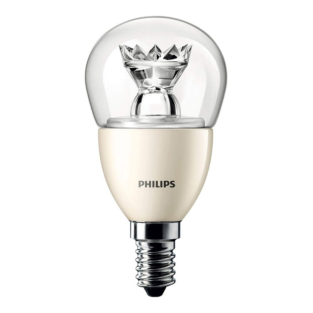 Philips LEDluster E14 P48 6W 827 Klar (MASTER) | DimTone Dimmbar - Ersatz für 40W