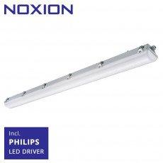 Noxion LED Feuchtraumleuchte Pro 150cm 4000K 8250 Lumen | Durchgangsverdrahtung (5x2.5mm2) - Ersatz für 2x58W