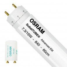 Osram SubstiTUBE Advanced EM T8 LED Röhren | mit LED-Starter - Rotierbar