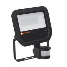 Ledvance LED-Scheinwerfer 50W 3000K 5500 Lumen IP65 Schwarz   Symmetrisch - inkl. Sensor - Ersatz für 100W