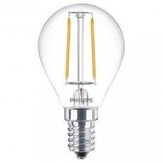 Philips Classic LEDluster E14 P45 2W 827 Klar | Ersatz für 25W