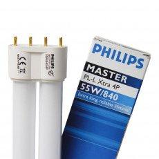 Philips PL-L Xtra 55W 840 4P (MASTER) | 4800 Lumen - 4-Pins