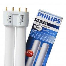 Philips PL-L 24W 827 4P (MASTER) | 1800 Lumen - 4-Pins