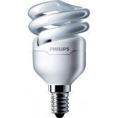 Philips Tornado T2 Spiral 8W 827 E14 | 510 Lumen