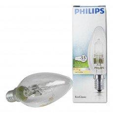 Philips EcoClassic 42W E14 230V B35 Klar