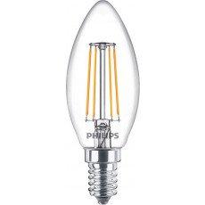 Philips Classic LEDcandle E14 B35 4.3W 827 Klar | 470 Lumen - Ersatz für 40W