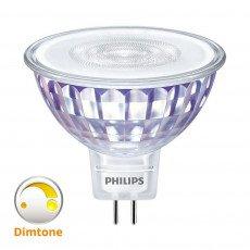 Philips LEDspot VLE GU5.3 MR16 5W 827 36D (MASTER) | 345 Lumen - DimTone Dimmbar - Ersatz für 35W
