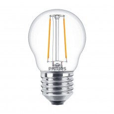 Philips Classic LEDluster E27 P45 2W 827 Klar | Ersatz für 25W