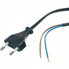 Euro cable 2x 0.75 Schwarz