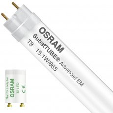 Osram SubstiTUBE Advanced UO EM 15.1W 865 120cm | 2500 Lumen - mit LED-Starter - Ersatz für 36W