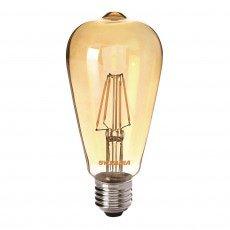 Sylvania ToLEDo Retro Edison E27 ST64 4W Gold | Ersatz für 35W