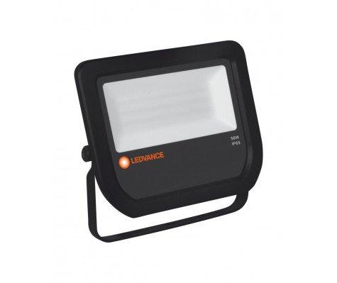 Ledvance LED-Scheinwerfer 50W 3000K 5250 Lumen IP65 Schwarz | Symmetrisch - Ersatz für 100W